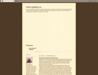 eplante.blogspot.com screenshot