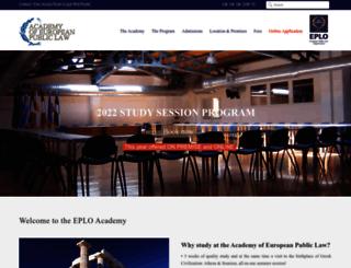 eploacademy.eu screenshot