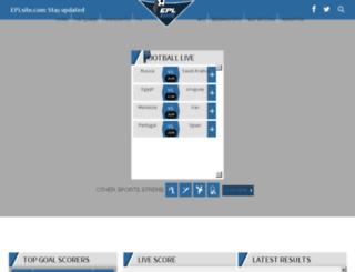 eplsite.com screenshot