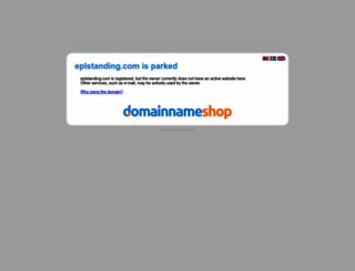 eplstanding.com screenshot
