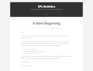 eplstatistics.wordpress.com screenshot