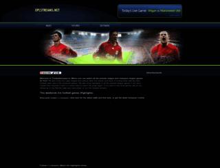 eplstreams.net screenshot
