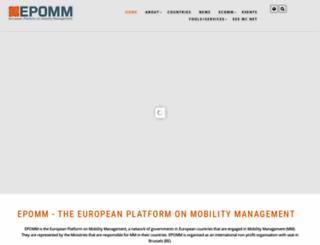 epomm.eu screenshot