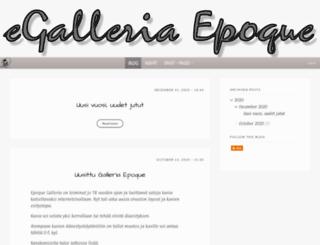 epoque.fi screenshot
