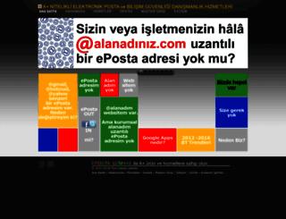 epostauzmani.com screenshot