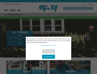 epoxy-shop.de screenshot