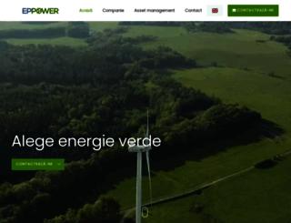 eppower.ro screenshot
