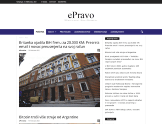 epravo.ba screenshot