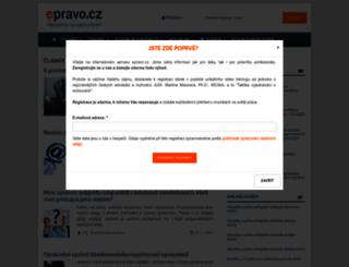 epravo.cz screenshot