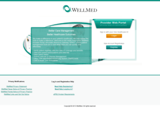 eprg.wellmed.net screenshot