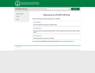 eprints.kfupm.edu.sa screenshot