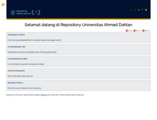 eprints.uad.ac.id screenshot