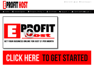 eprofithost.com screenshot