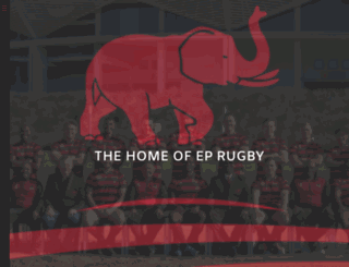 eprugby.co.za screenshot