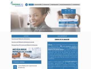 eps.coomeva.com.co screenshot