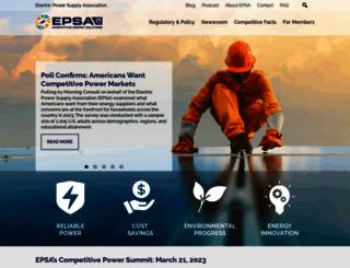epsa.org screenshot
