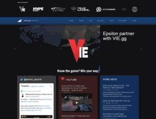 epsilon-esports.com screenshot