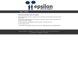 epsilon-ideas-insights.com screenshot