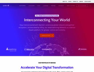 epsilontel.com screenshot