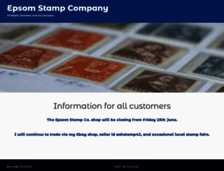 epsomstamp.co.uk screenshot