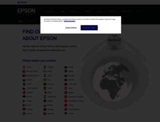 epson-europe.com screenshot