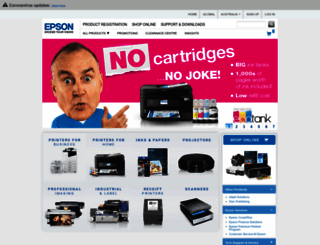 epson.com.au screenshot