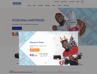 epson.pl screenshot