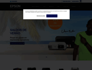 epson.pt screenshot