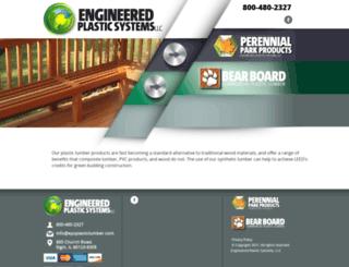 epsplasticlumber.com screenshot