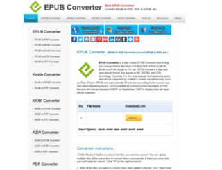 epubconverter.com screenshot