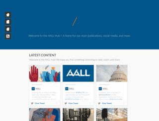epubs.aallnet.org screenshot
