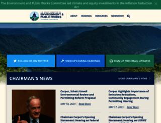 epw.senate.gov screenshot