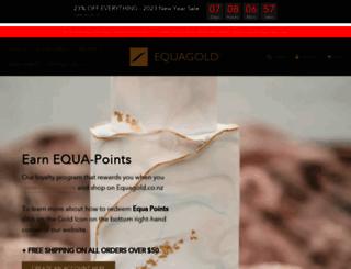 equagold.co.nz screenshot