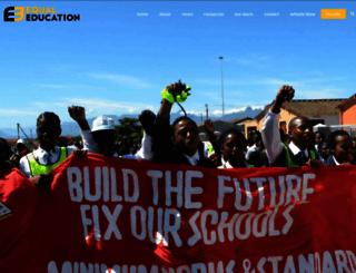 equaleducation.org.za screenshot