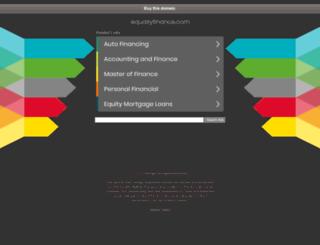 equallyfinance.com screenshot