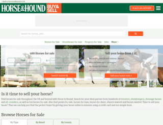equestrian-business-finder.horseandhound.co.uk screenshot