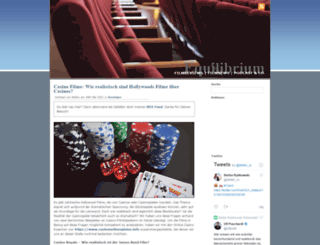 equilibriumblog.de screenshot