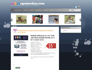equimedias.com screenshot
