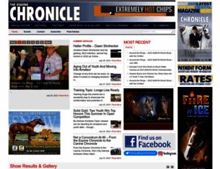 equinechronicle.com screenshot