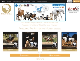 equinesa.com screenshot