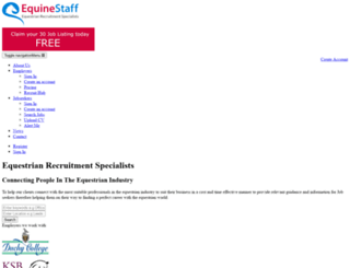 equinestaff.co.uk screenshot