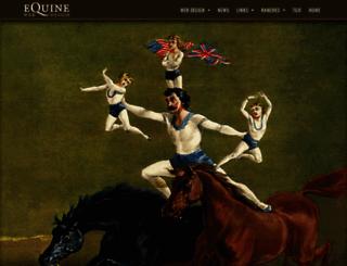 equinewebdesign.com screenshot