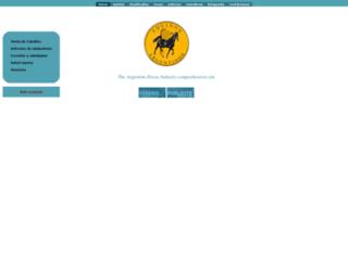 equinos.com.ar screenshot