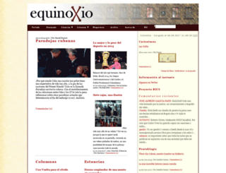 equinoxio.org screenshot