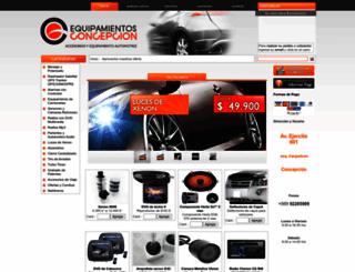 equipamientosconcepcion.cl screenshot