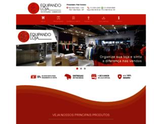 equipandoloja.com.br screenshot