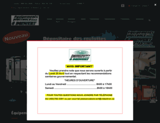 equipementsdeplaisancegboisvert.autohebdo.net screenshot