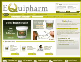 equipharm.fr screenshot