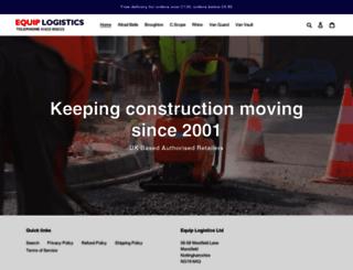 equiplogistics.com screenshot