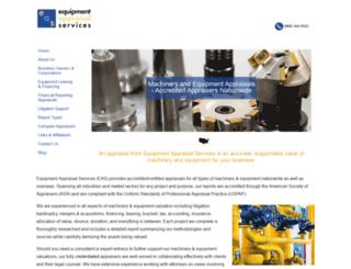 equipmentappraisal.com screenshot